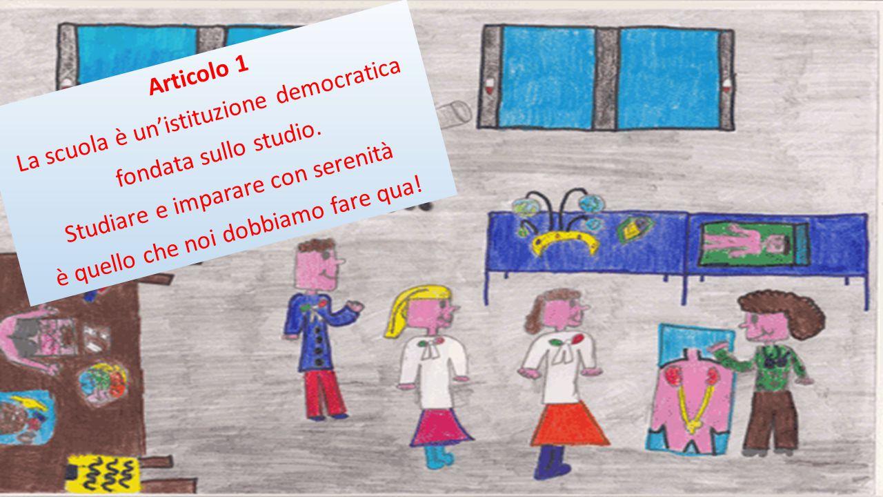 """Articolo Uno L'Italia è è è….noi l'abbiam imparata ora tocca a voi perché noi vi declamiamo… """"La Costituzione della nostra scuola"""""""