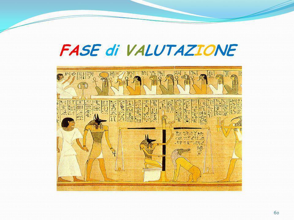 FASE di VALUTAZIONE 60