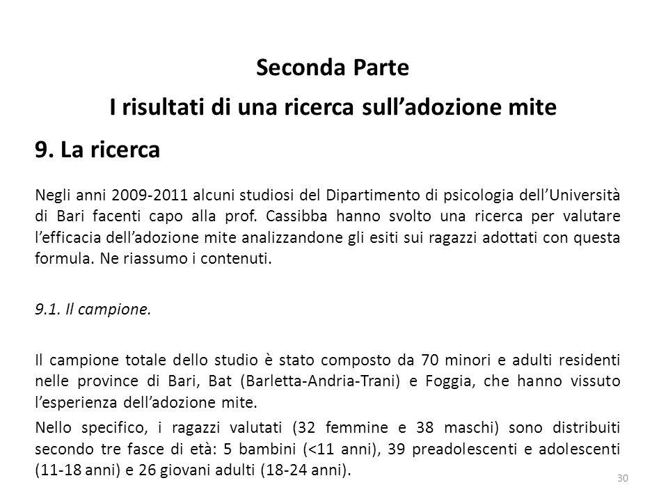 Negli anni 2009-2011 alcuni studiosi del Dipartimento di psicologia dell'Università di Bari facenti capo alla prof.