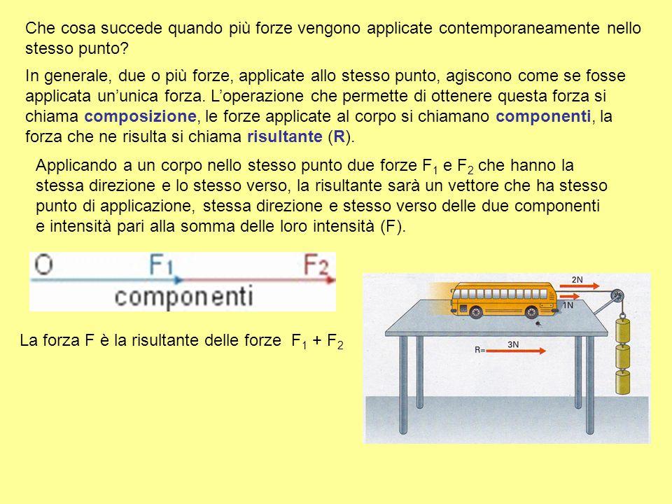 L'unità di misura delle forze è il newton (N), così chiamata in onore del fisico inglese Isaac Newton. 1 newton è la forza che, applicata a un corpo d