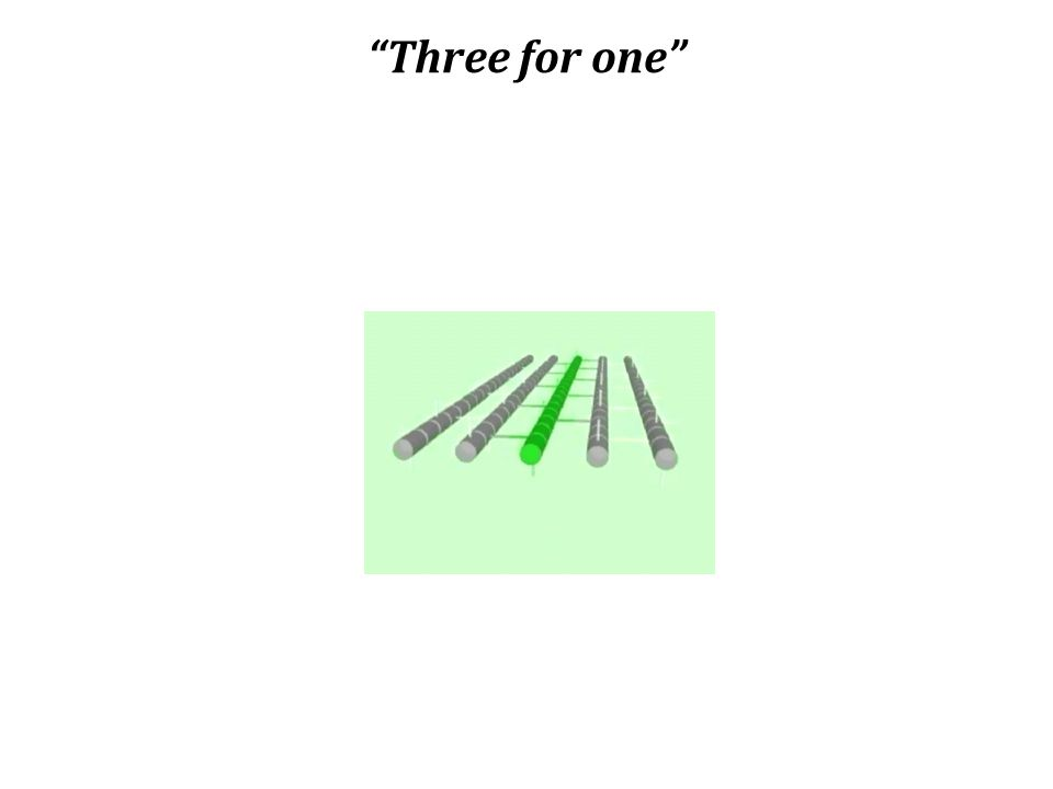 """""""Three for one"""""""