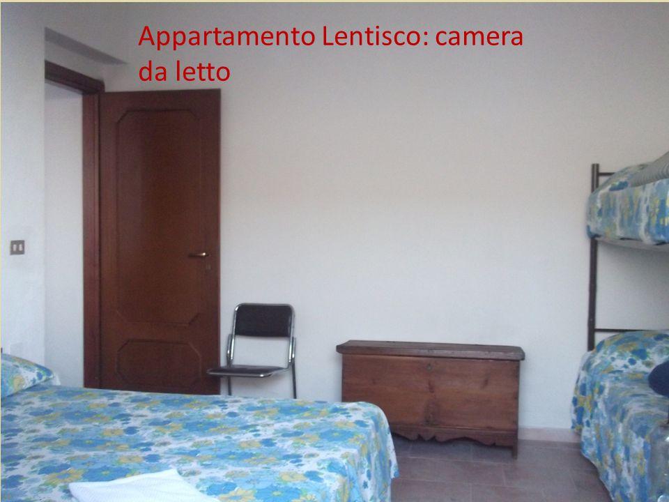 Appartamento Lentisco: camera da letto
