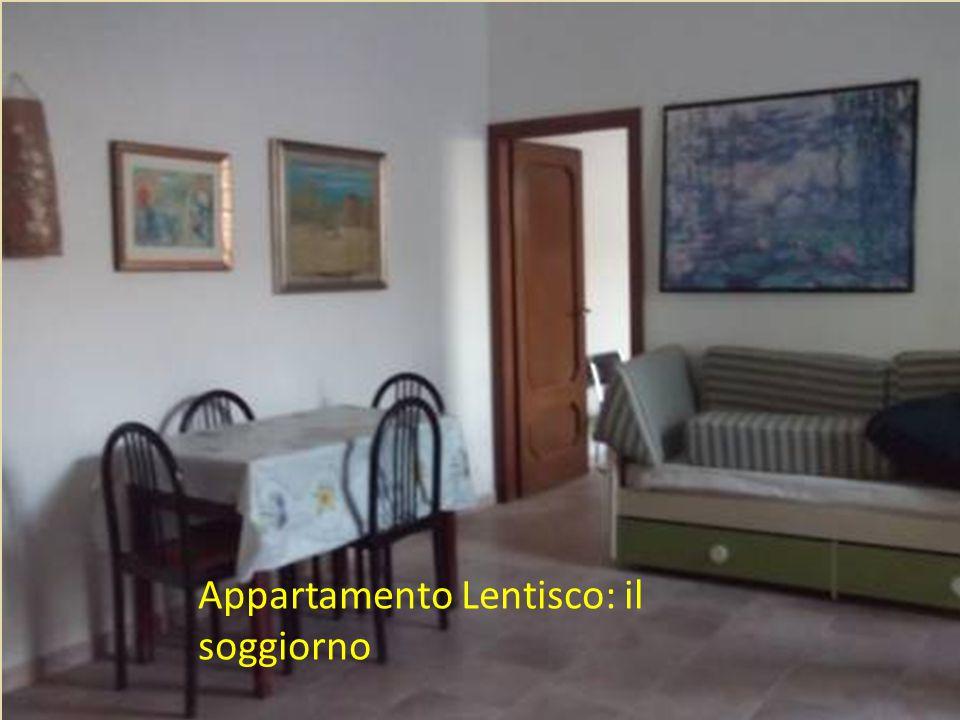 Appartamento Lentisco: il soggiorno