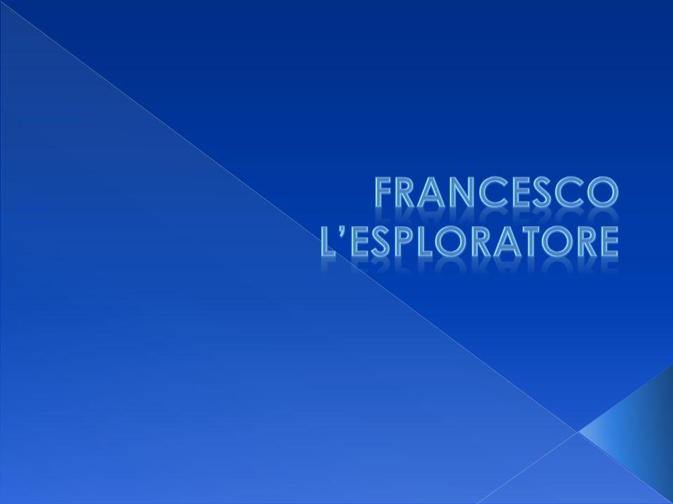 Francesco è un ragazzo che da poco è diventato esploratore.