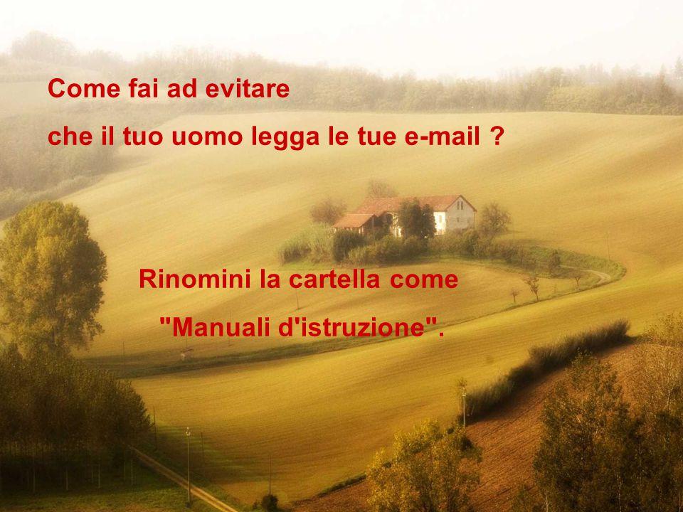 Ravello Ok, mandala anche ad un uomo se ne conosci uno brillante che abbia abbastanza senso dell umorismo!