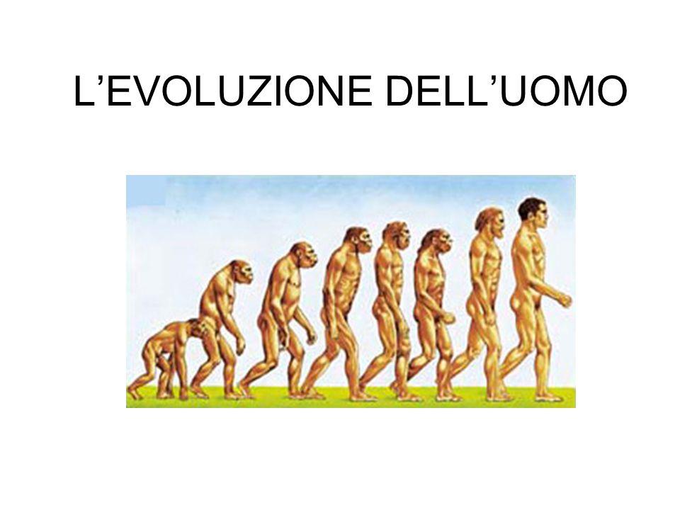 INTRODUZIONE Gli studiosi di Darwin hanno permesso di capire anche l'uomo e il frutto di un processo di evoluzione.