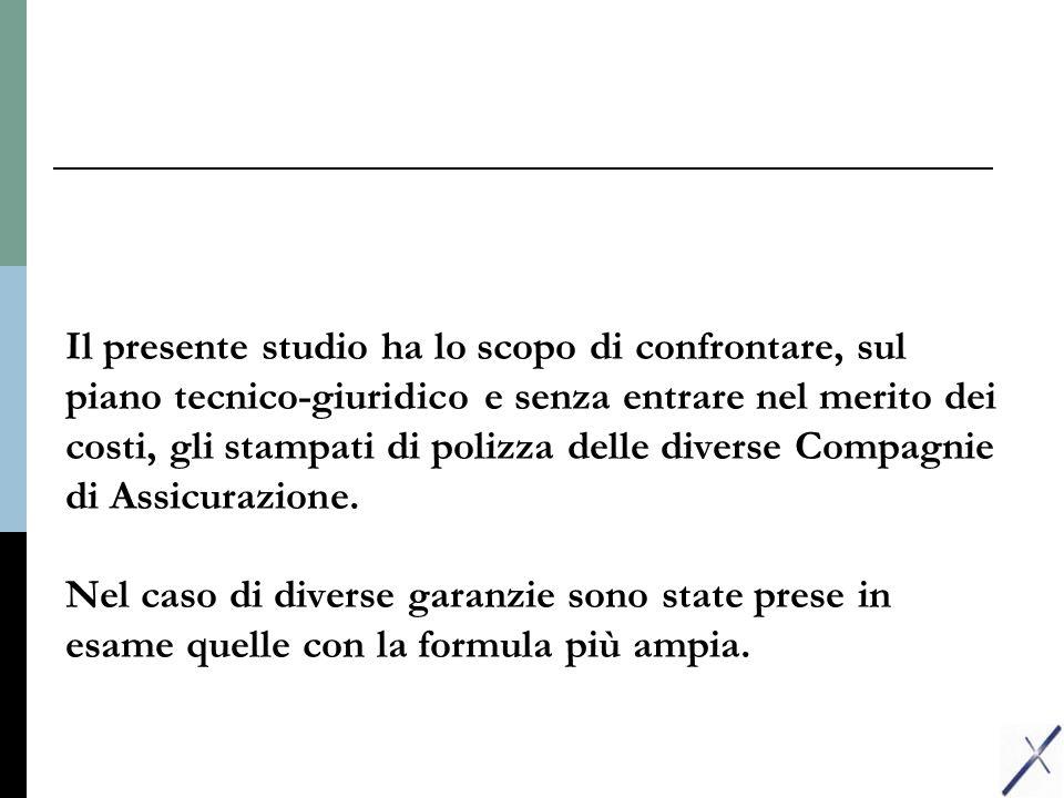 COSTO DI RIMPIAZZO CONTENUTO ALLIANZ-RASArt.