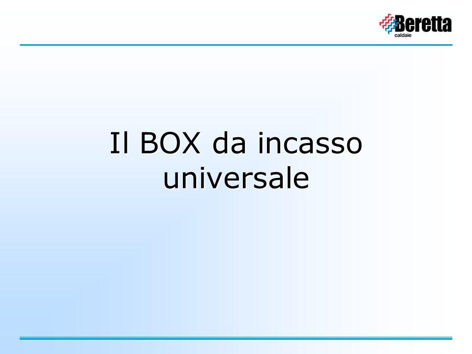 Il BOX da incasso universale
