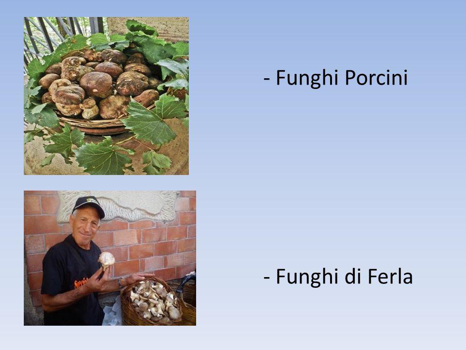 - Funghi Porcini - Funghi di Ferla