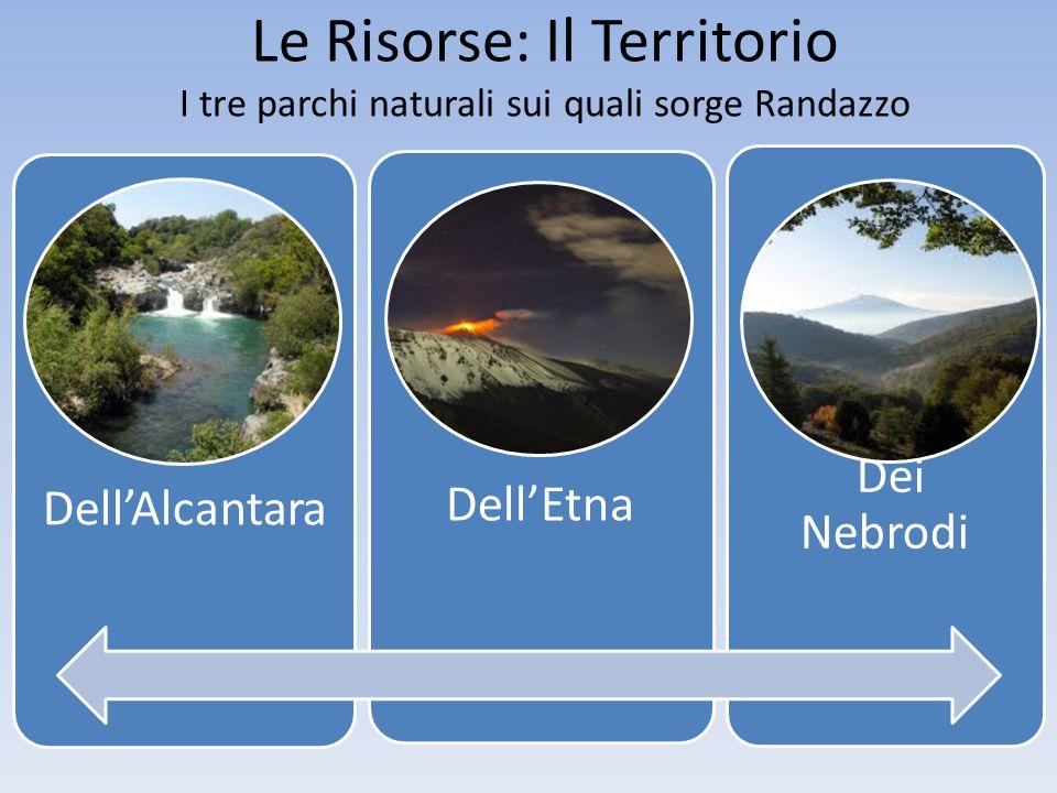Dell'Alcantara Dell'Etna Dei Nebrodi Le Risorse: Il Territorio I tre parchi naturali sui quali sorge Randazzo