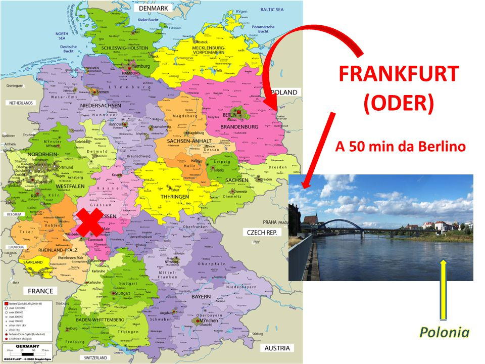 FRANKFURT (ODER) A 50 min da Berlino