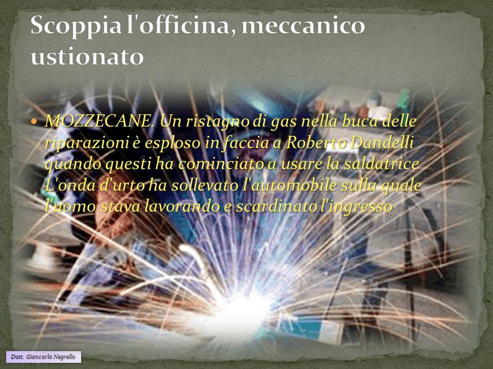 Dott.Giancarlo Negrello Formazione addetti al Primo Soccorso; Formazione addetti all'antincendio.