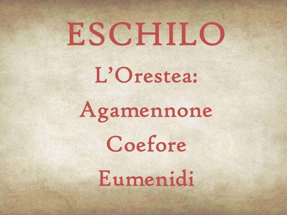 Biografia Eschilo nacque nel demo attico di Eleusi da una nobile famiglia di proprietari terrieri.