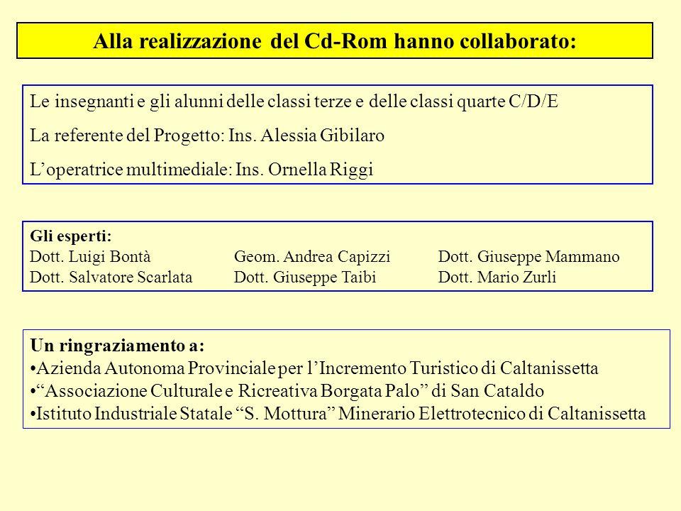 Gli esperti: Dott. Luigi Bontà Geom. Andrea CapizziDott. Giuseppe Mammano Dott. Salvatore ScarlataDott. Giuseppe TaibiDott. Mario Zurli Un ringraziame