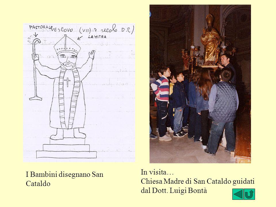 I Bambini disegnano San Cataldo In visita… Chiesa Madre di San Cataldo guidati dal Dott. Luigi Bontà