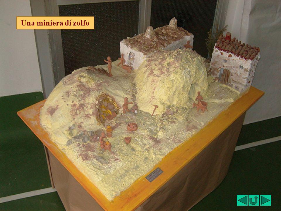 Una miniera di zolfo