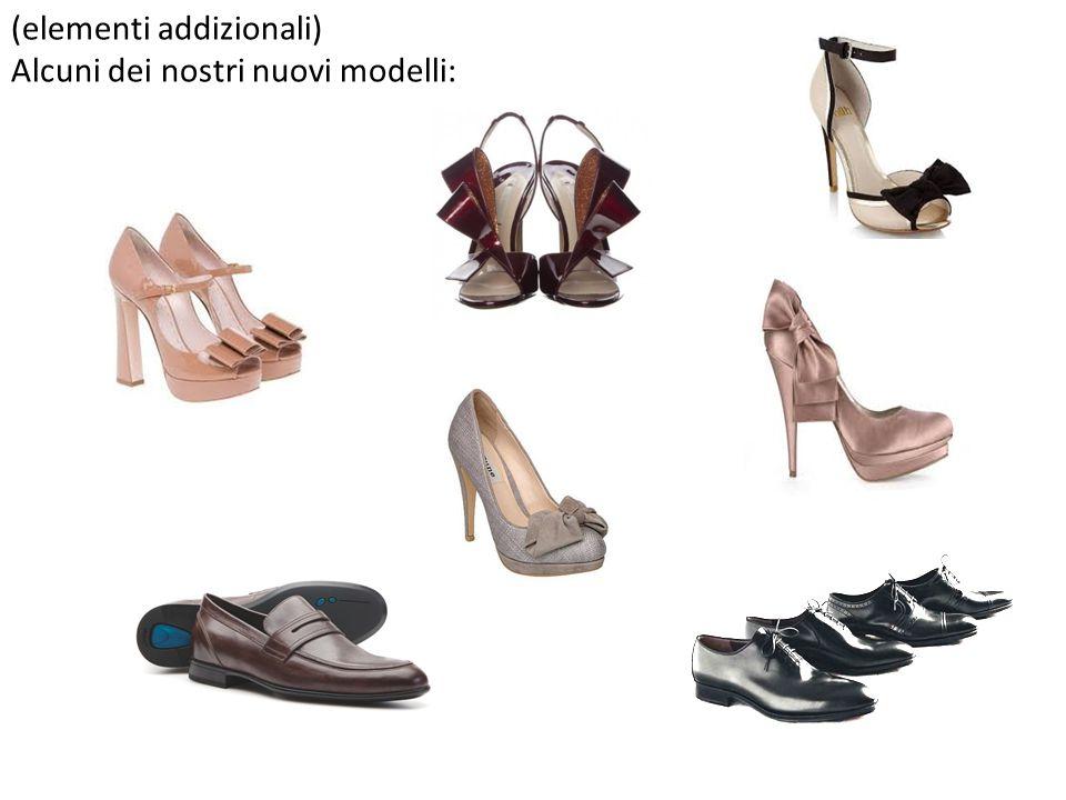 (elementi addizionali) Alcuni dei nostri nuovi modelli: