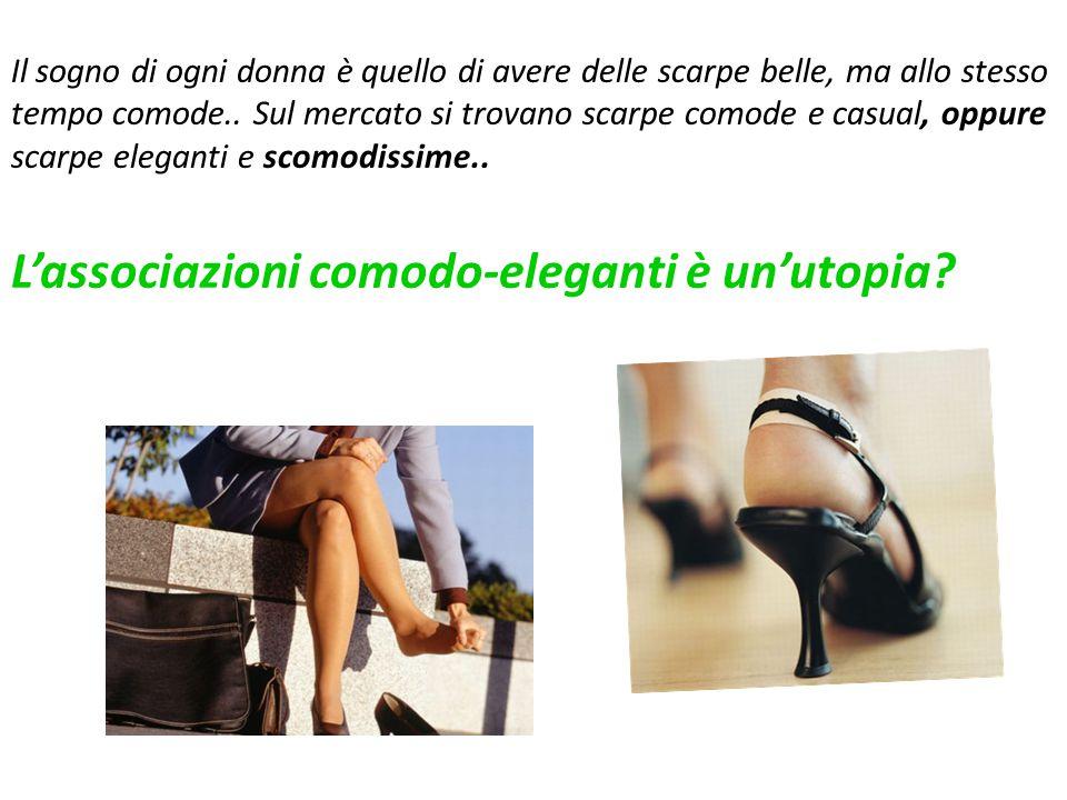 Il sogno di ogni donna è quello di avere delle scarpe belle, ma allo stesso tempo comode..