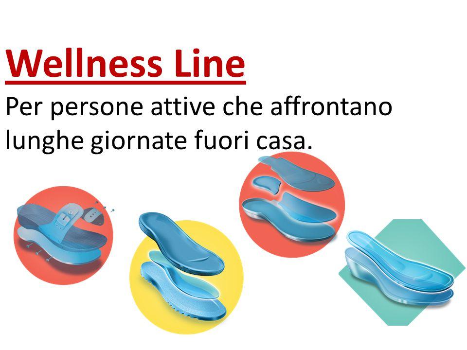 Wellness Line Per persone attive che affrontano lunghe giornate fuori casa.