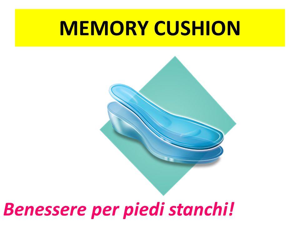MEMORY CUSHION Benessere per piedi stanchi!