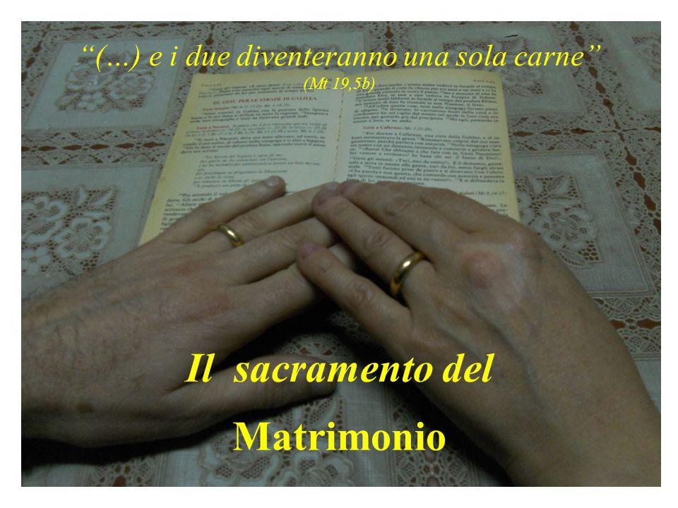 Il mio Matrimonio : alcune domande preliminari - Quali motivi mi accompagnarono nell' intraprendere la via del Matrimonio .