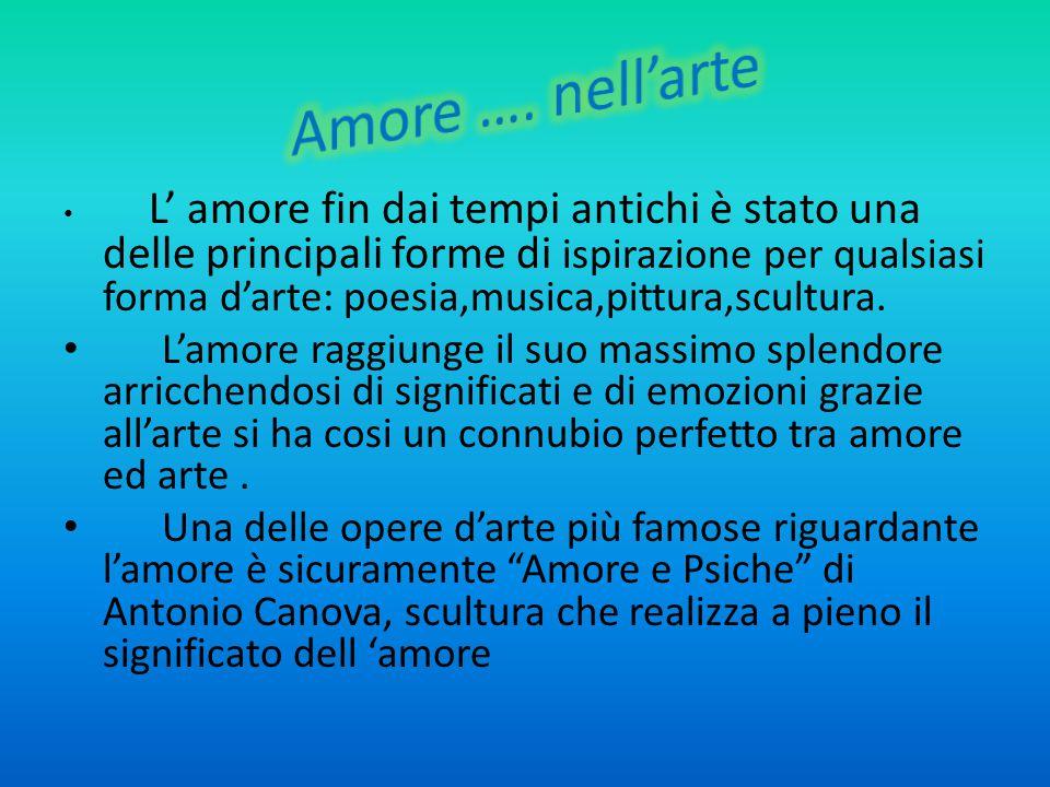 Amore e Psiche è una delle opere più affascinanti ed empatiche di Antonio Canova.
