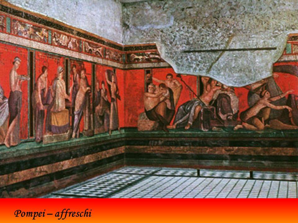 Pompei – calchi di corpi umani