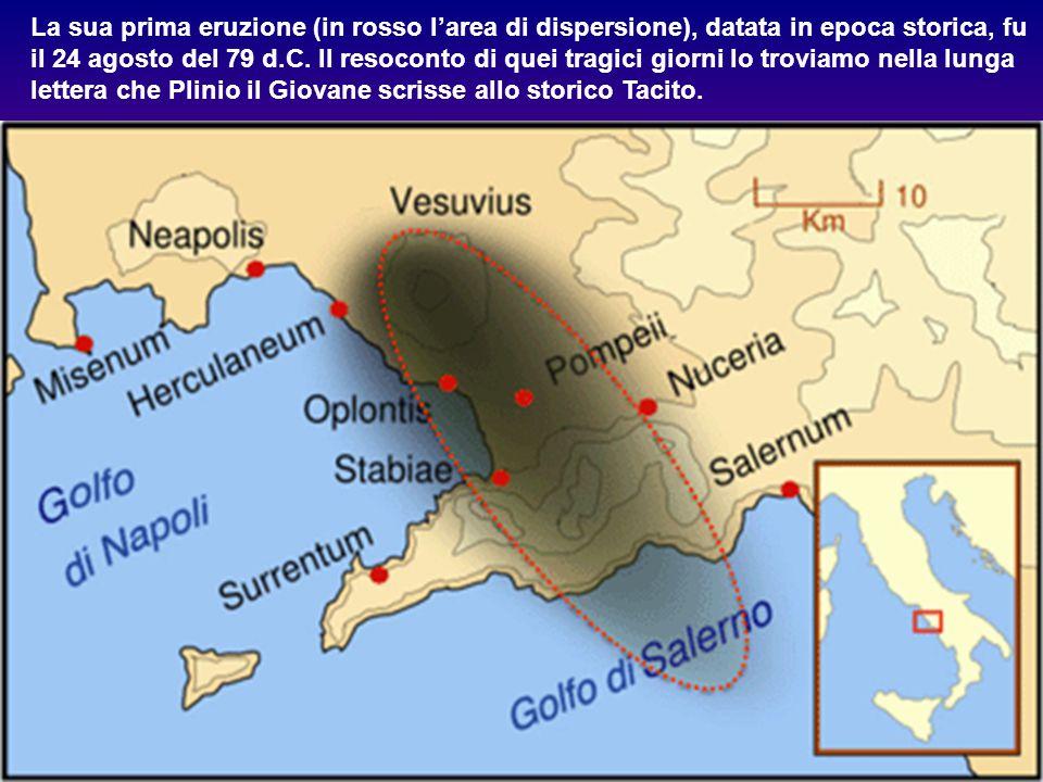 Il Vesuvio nell'Eocene era un'isola. Solo nel Pliocene si unì alla terra ferma raggiungendo l'altezza di 2300 mt.; attualmente la sua cima, il Gran Co