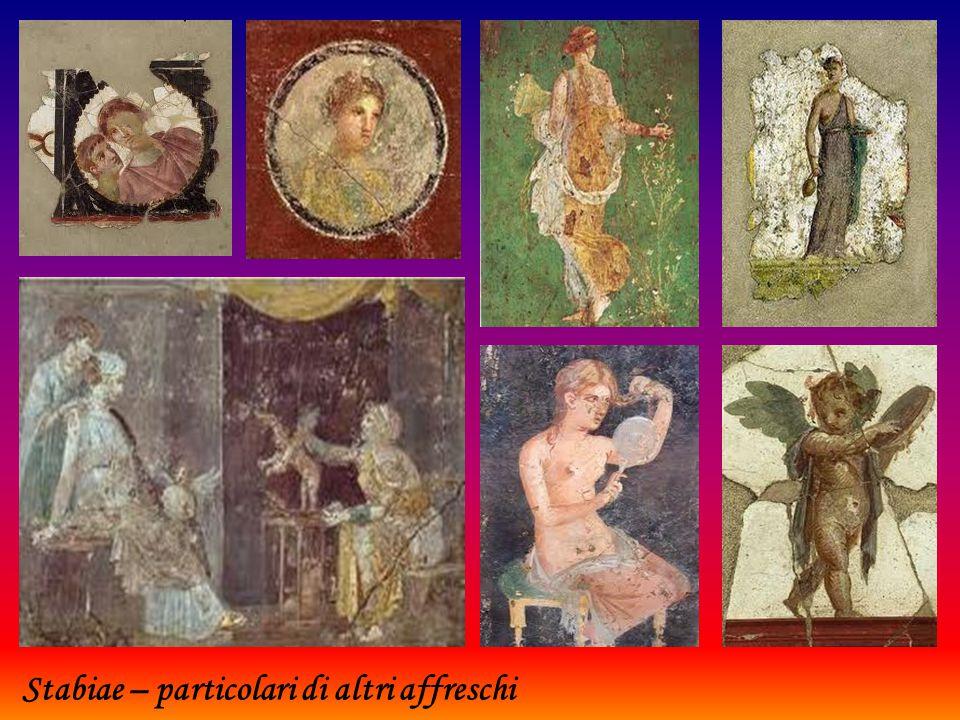 Stabiae – particolari di affreschi