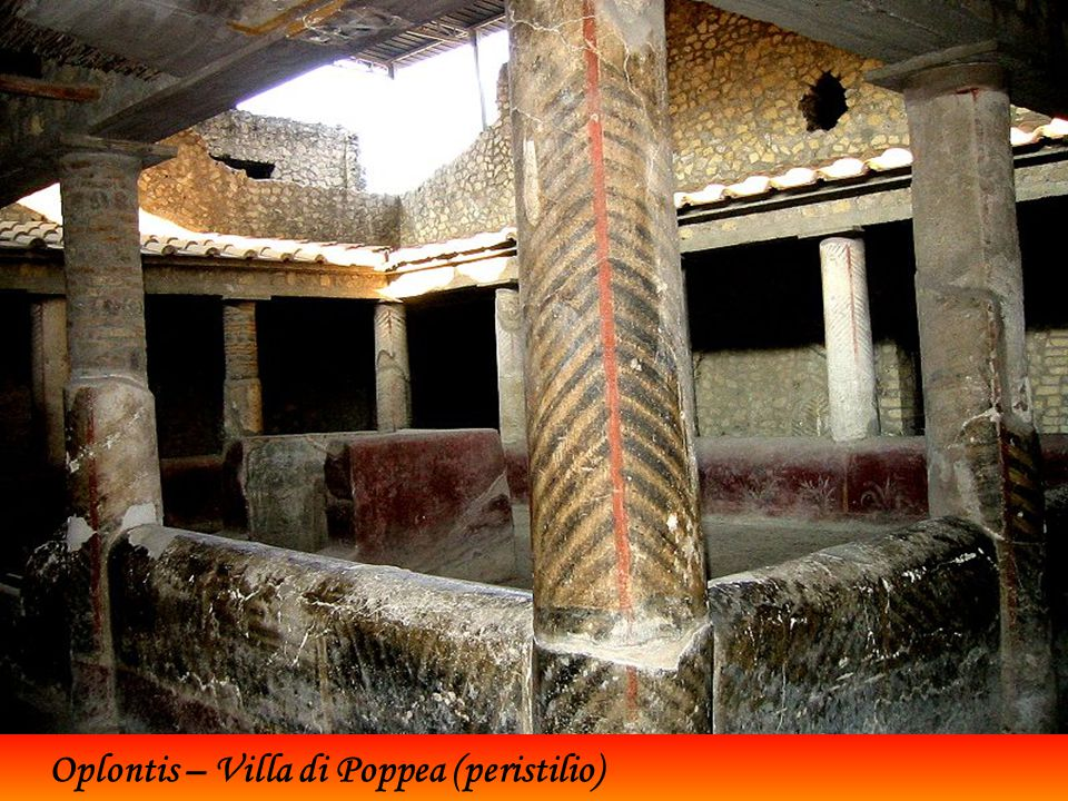Oplontis – Villa di Poppea (calidarium)