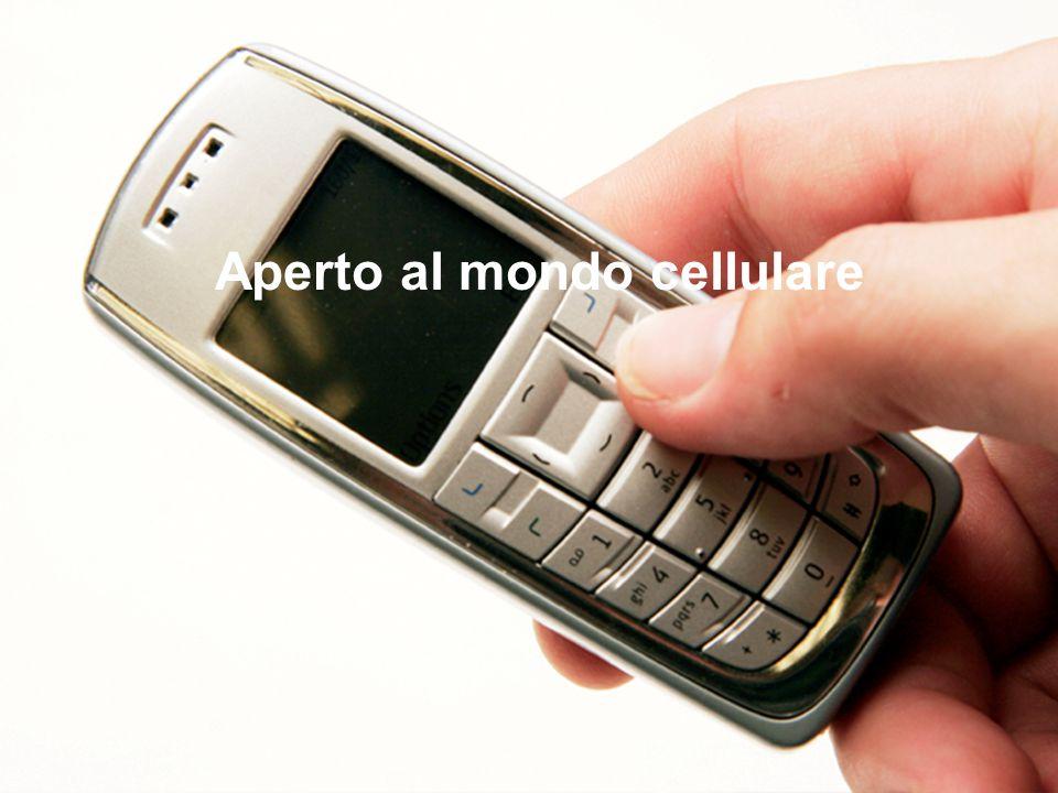 Schneider Electric 20 - Marketing VSD – April 2009 Aperto al mondo cellulare