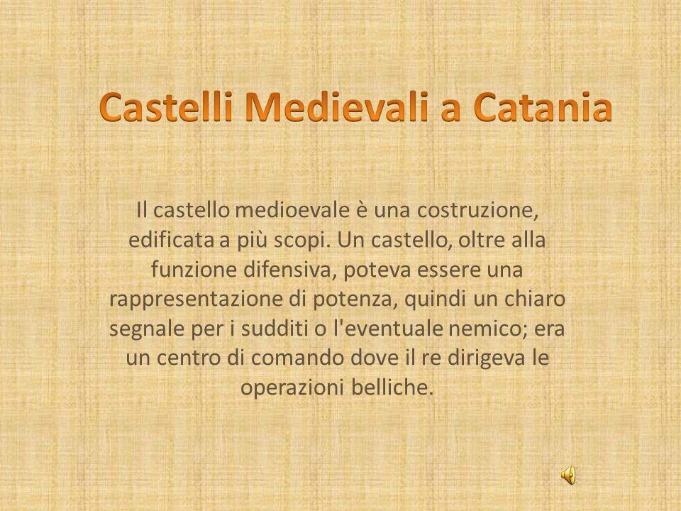 Il castello medioevale è una costruzione, edificata a più scopi.