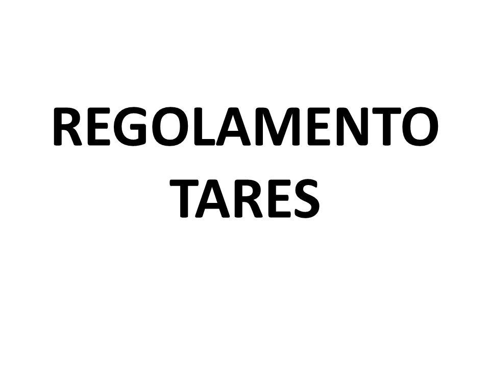 REGOLAMENTO TARES