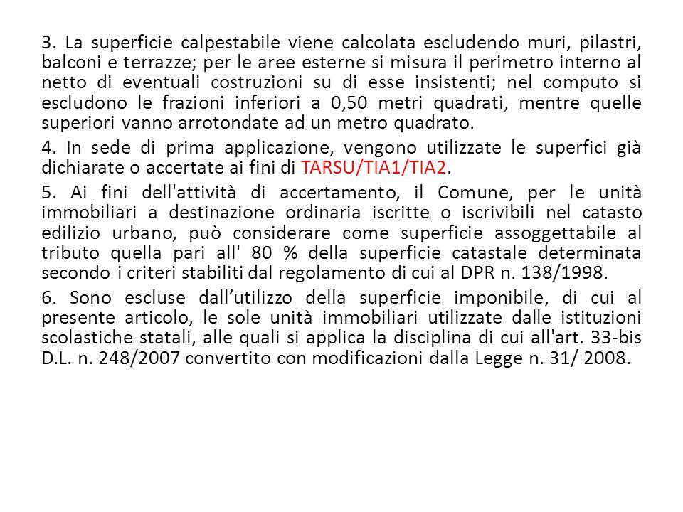 Art.5 – Determinazione delle tariffe. 1.