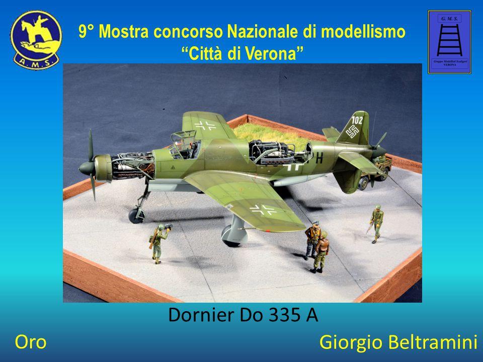 Giorgio Beltramini Dornier Do 335 A 9° Mostra concorso Nazionale di modellismo Città di Verona Oro