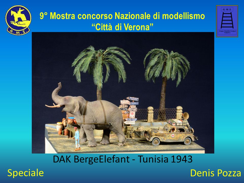 Stefano Corsi Operazione Barbarossa 9° Mostra concorso Nazionale di modellismo Città di Verona Speciale