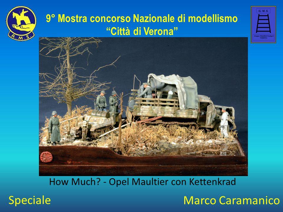 Andrea Bucciarelli Il Riposo del Guerriero 9° Mostra concorso Nazionale di modellismo Città di Verona Speciale