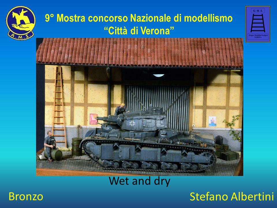 Marco Carraro The Dancing Bear 9° Mostra concorso Nazionale di modellismo Città di Verona Argento