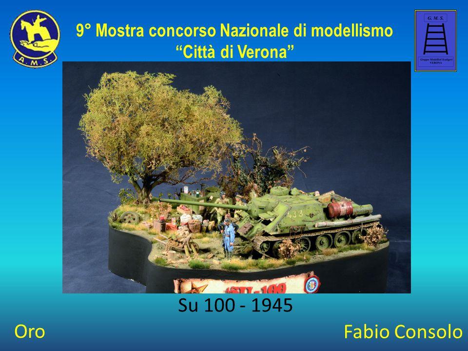 Giampiero Bianchi KV2 - Der Fall Des Giganten 9° Mostra concorso Nazionale di modellismo Città di Verona Best Of Class