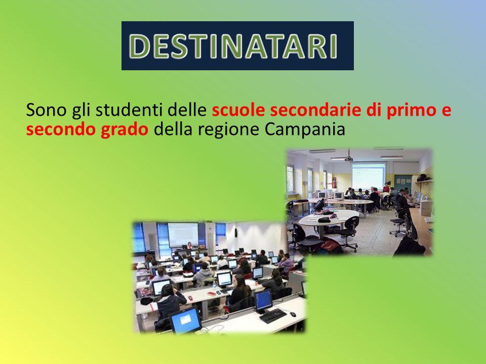 Sono gli studenti delle scuole secondarie di primo e secondo grado della regione Campania
