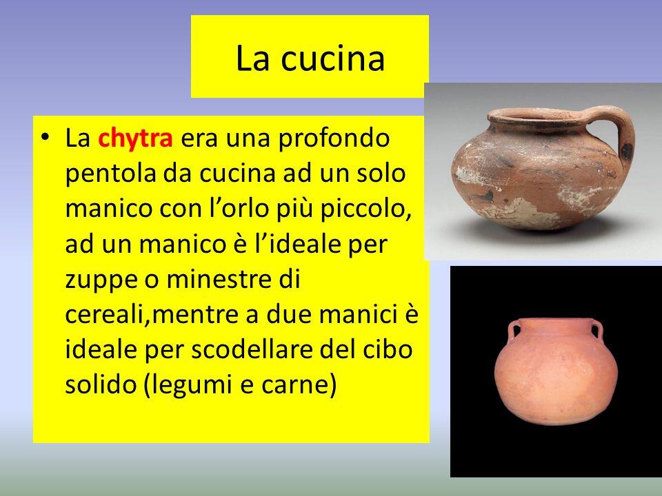 La cucina La chytra era una profondo pentola da cucina ad un solo manico con l'orlo più piccolo, ad un manico è l'ideale per zuppe o minestre di cerea