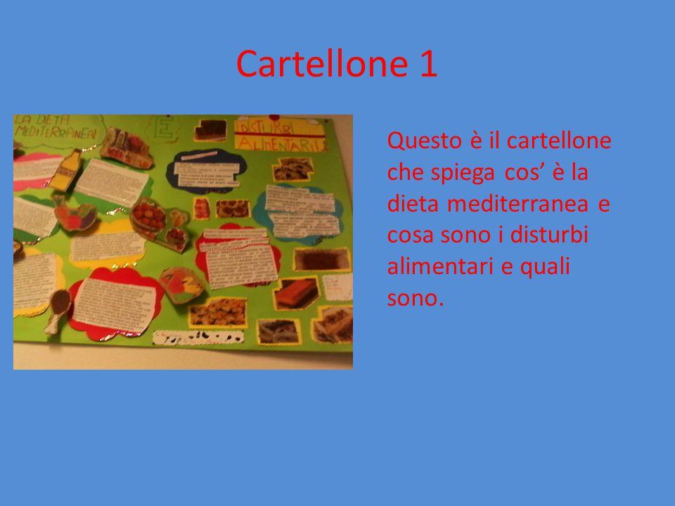 Cartellone 2 In questo secondo cartellone si precisa un concetto preciso: la dieta nell' adolescenza, cioè quali cibi si mangiano di solito in questa fascia d' età!