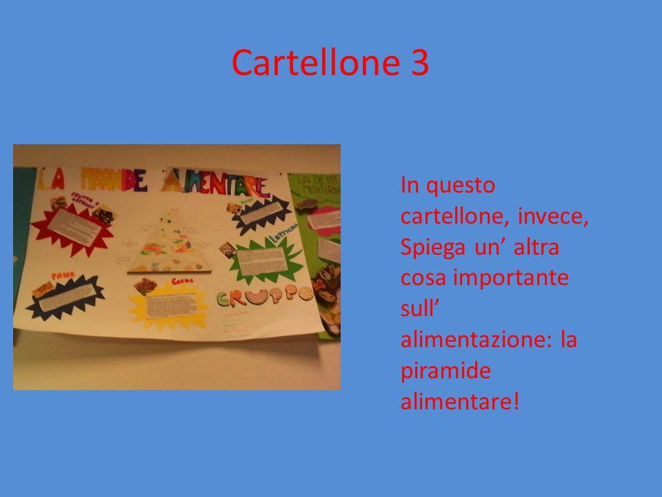 Cartellone 4 Questa è un eccezione: invece che un cartellone è stato fatto un «totem» per approfondire l' argomento sulle vitamine!