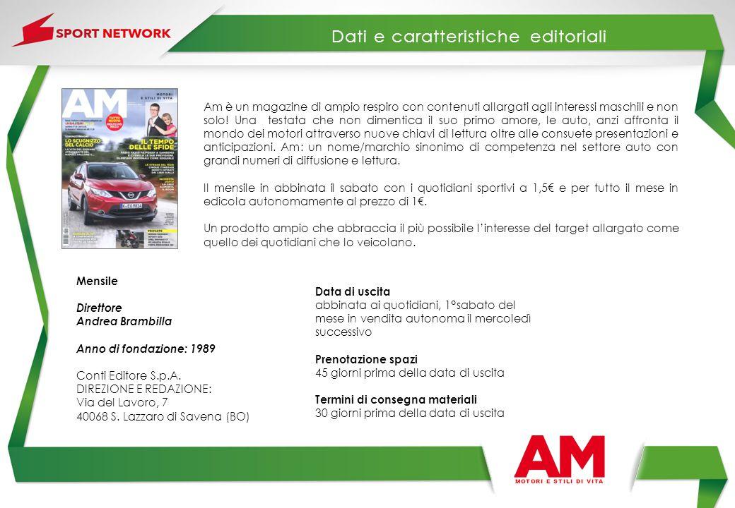 Mensile Direttore Andrea Brambilla Anno di fondazione: 1989 Conti Editore S.p.A. DIREZIONE E REDAZIONE: Via del Lavoro, 7 40068 S. Lazzaro di Savena (