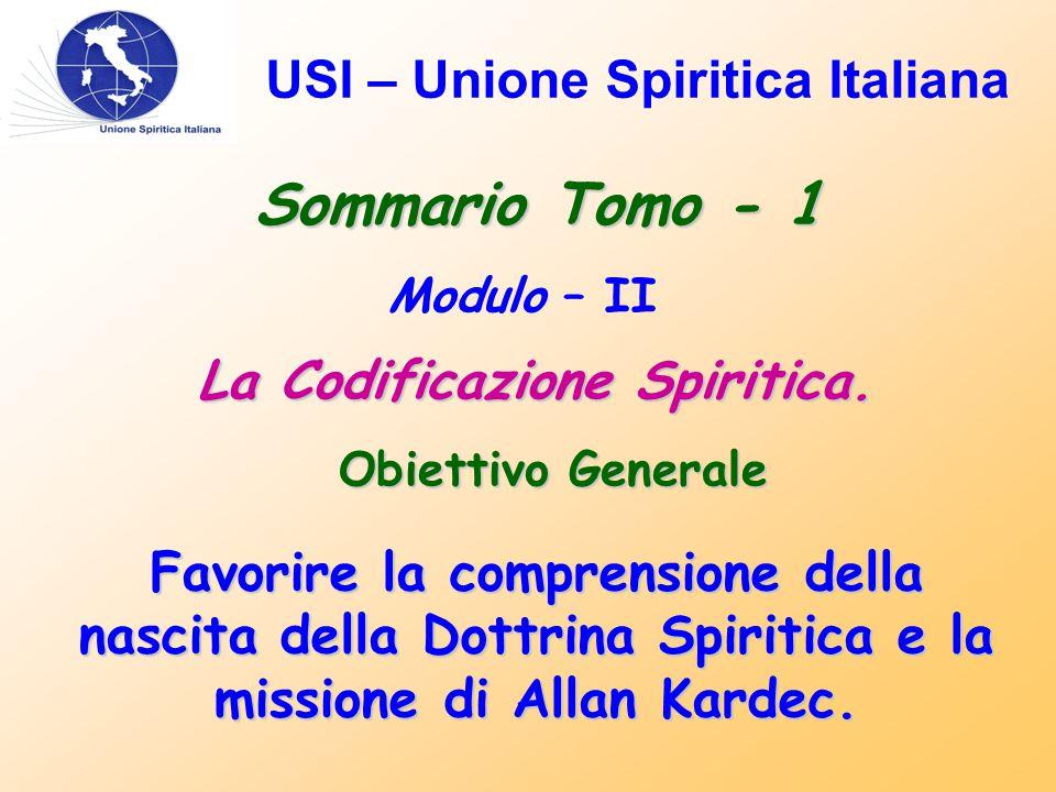 USI – Unione Spiritica Italiana Messaggio Finale.....