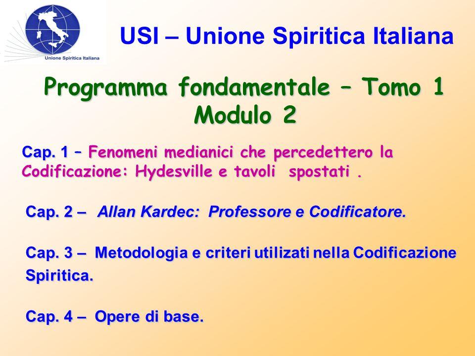USI – Unione Spiritica Italiana Cap.