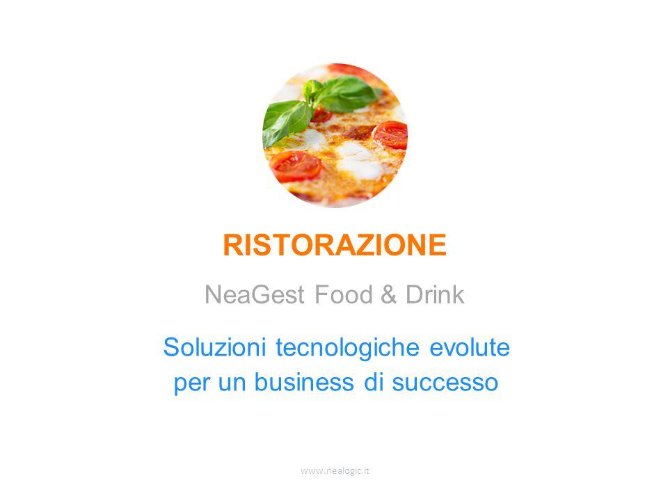 www.nealogic.it Soluzioni tecnologiche evolute per un business di successo RISTORAZIONE NeaGest Food & Drink