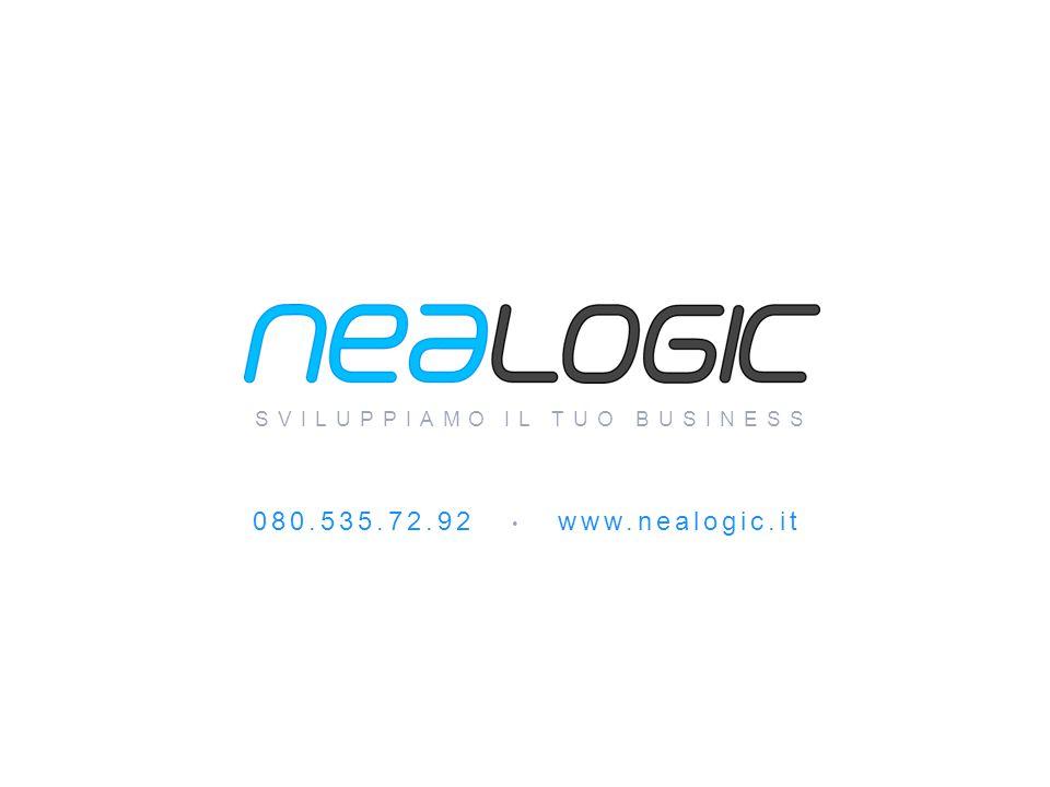Tutto questo e molto di più è… www.nealogic.it