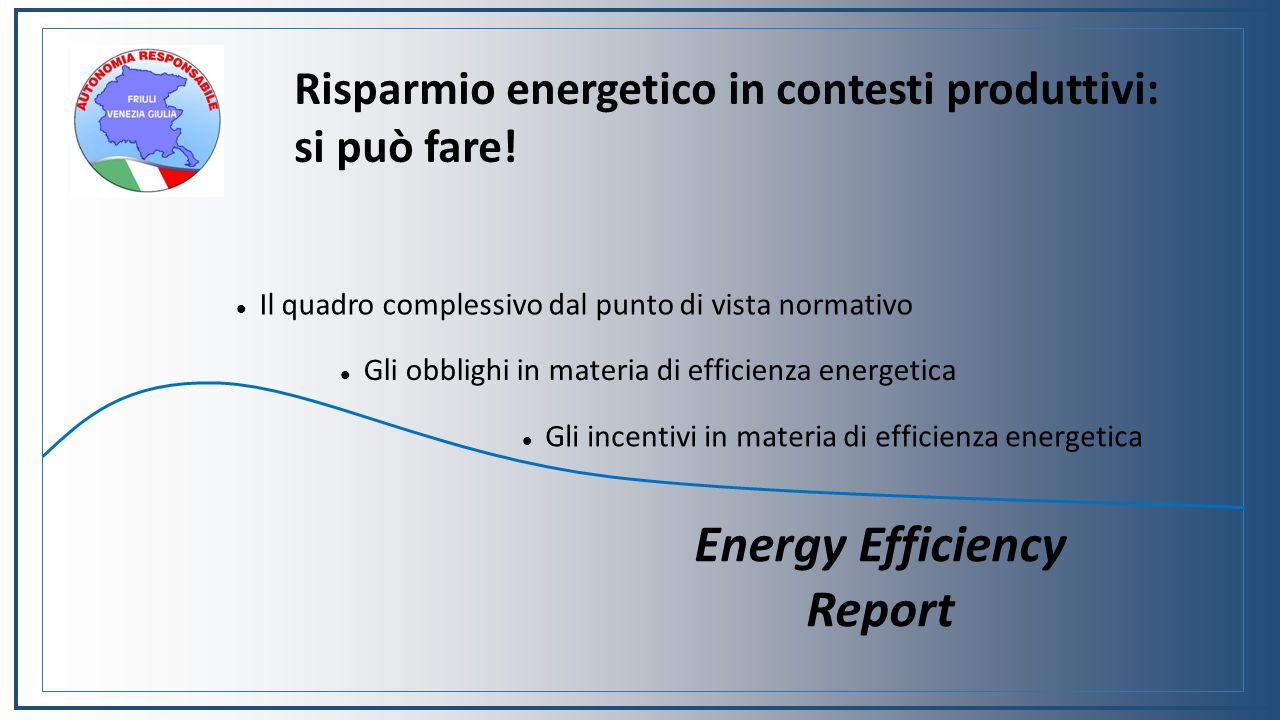 Risparmio energetico in contesti produttivi: si può fare.