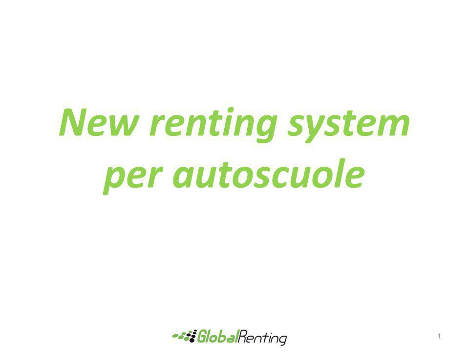 New renting system per autoscuole 1
